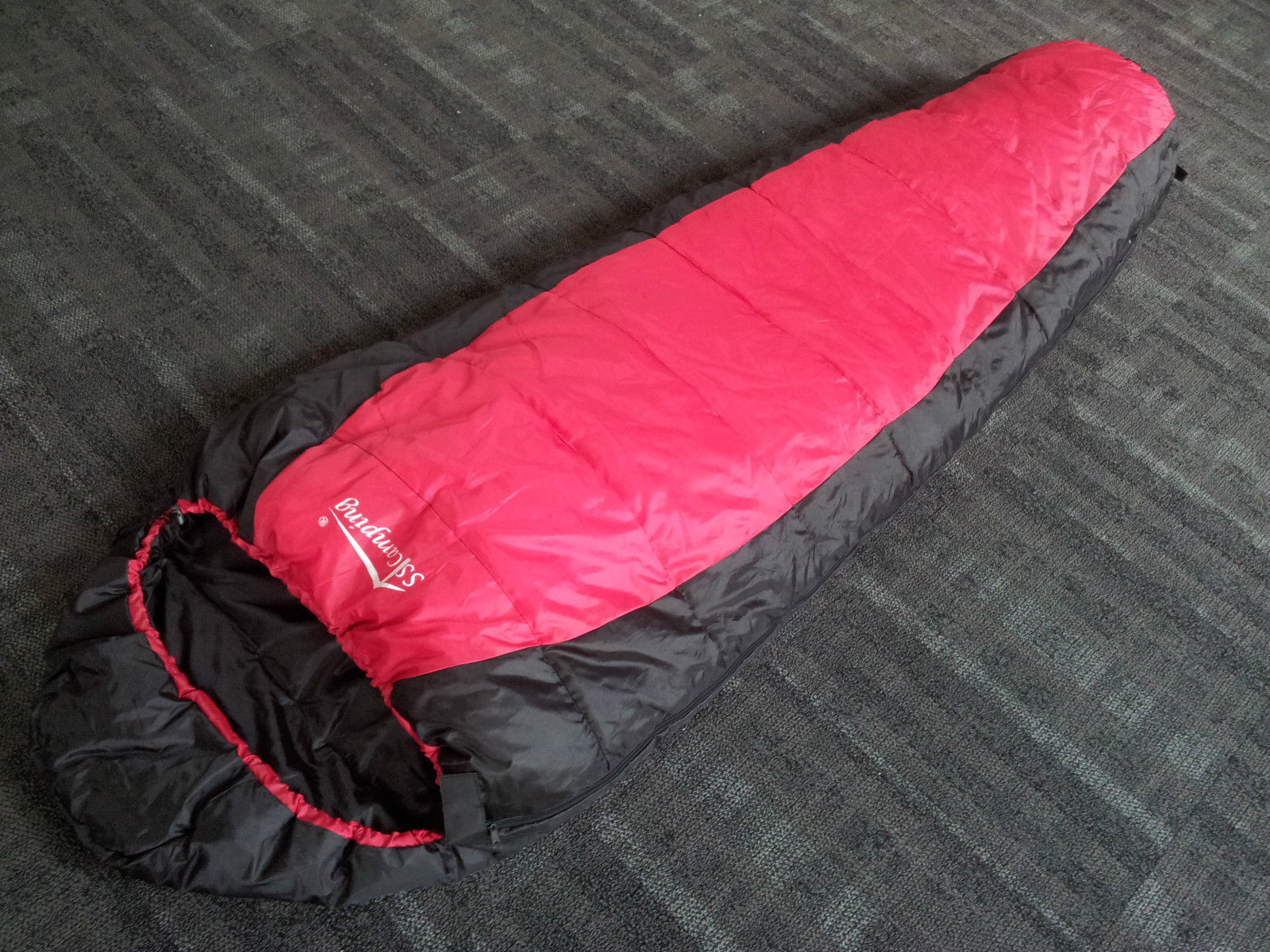 -5°C Camping Thermal Sleeping Bag Outdoor Hiking with Free ...